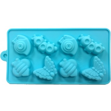 Stampo Silicone Bugs - H2007-027